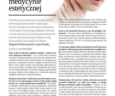 Trendy w laserowej medycynie estetycznej